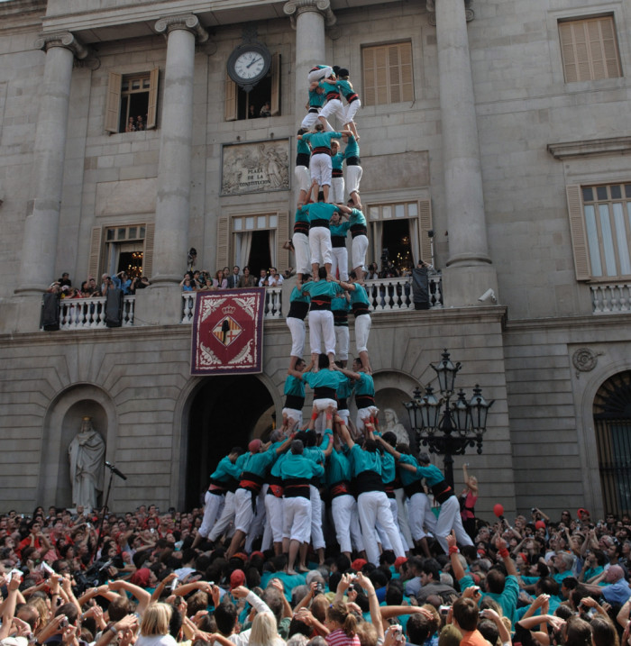 Castellers - Barcelona siempre