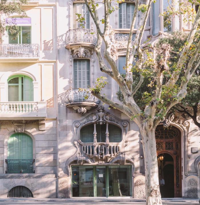 Casa Comalat - Barcelona