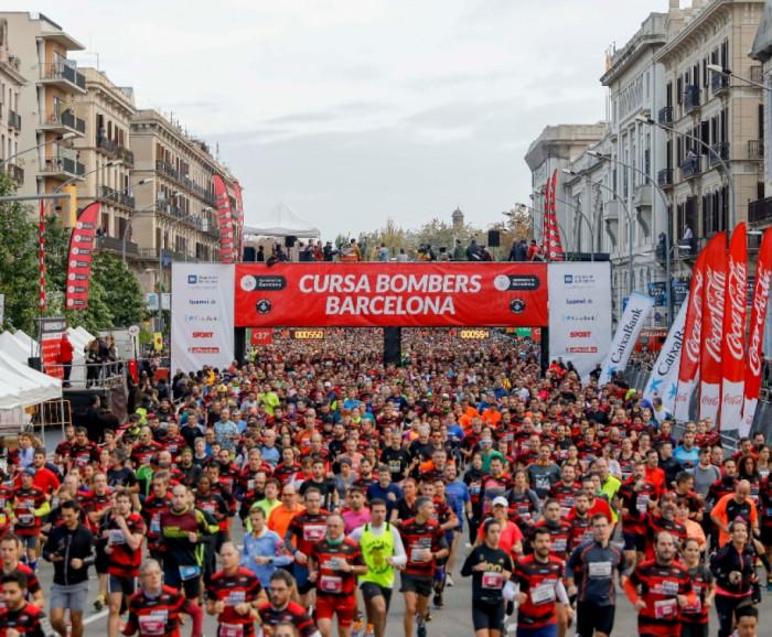22ª edició Vueling Cursa Bombers de Barcelona