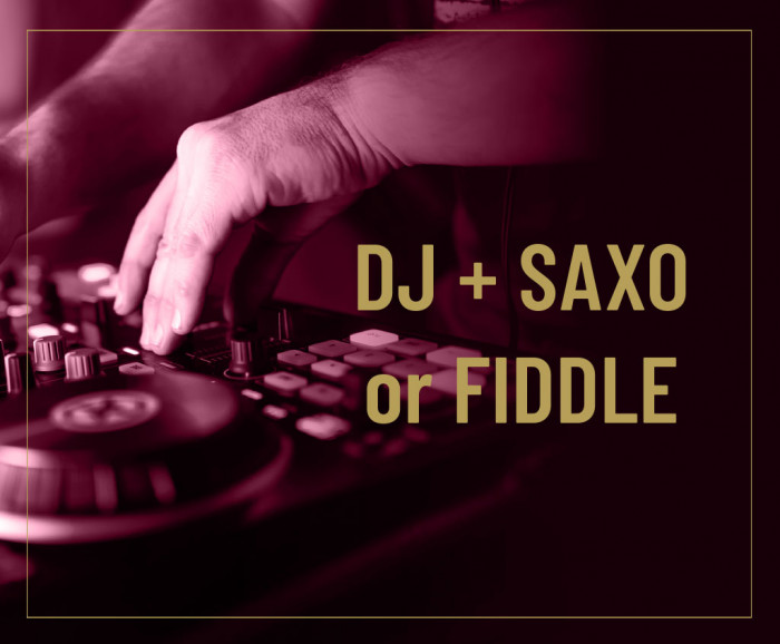 DJ + Saxo or Fiddle