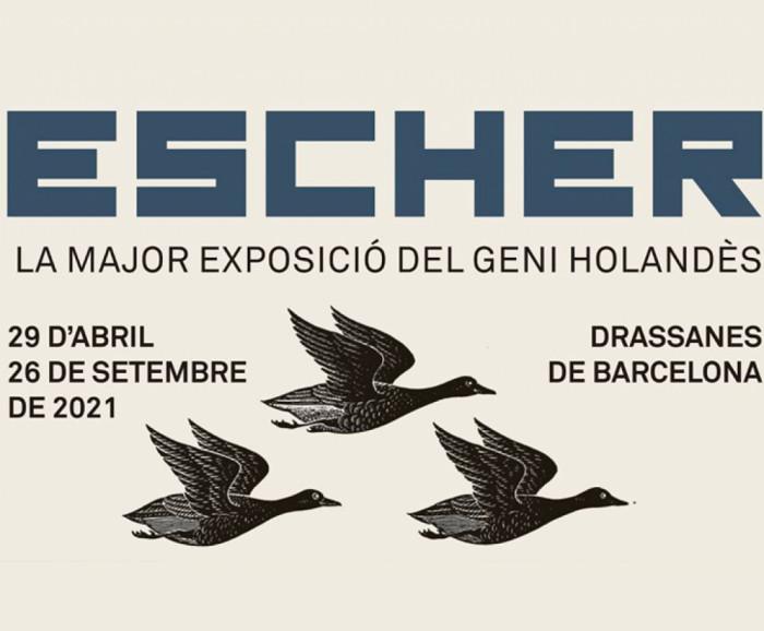 Exposición Escher en Barcelona