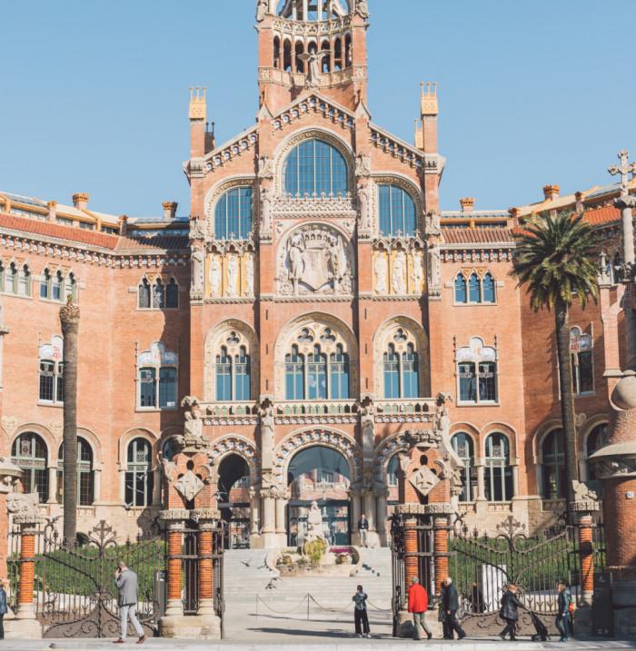 Hospital de la Santa Creu i Sant Pau de Barcelona