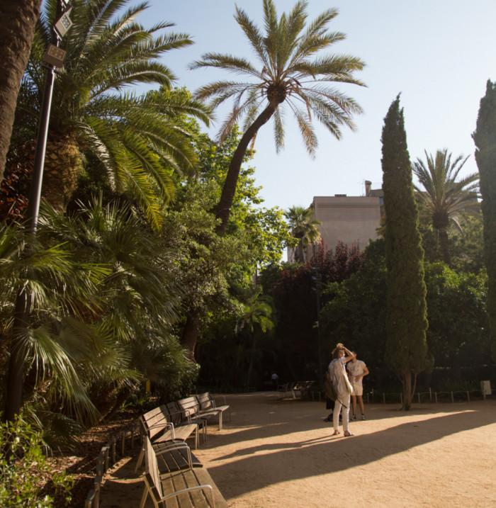 Jardines del Palau Robert - Barcelona