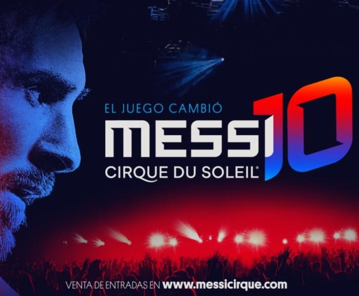 Messi 10 Cirque du Soleil - Barcelona Siempre