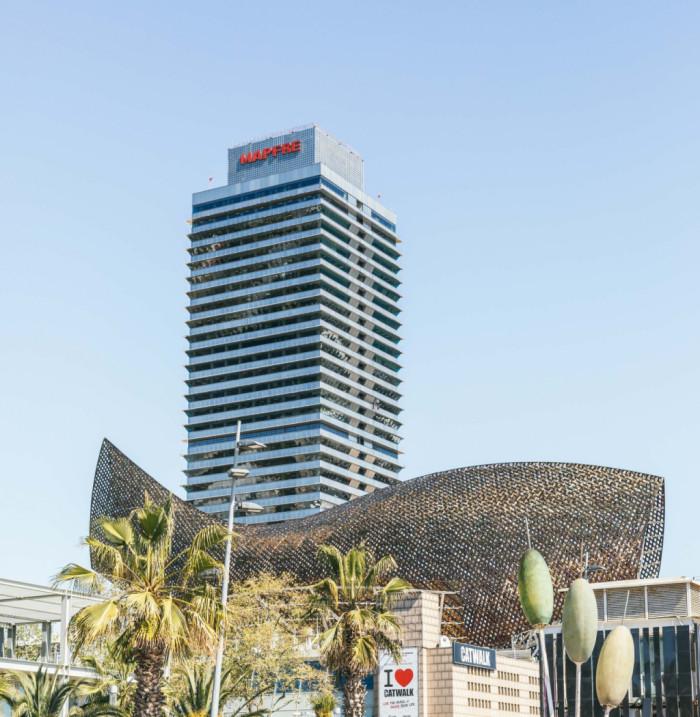 Pez de Frank Gehry - Barcelona
