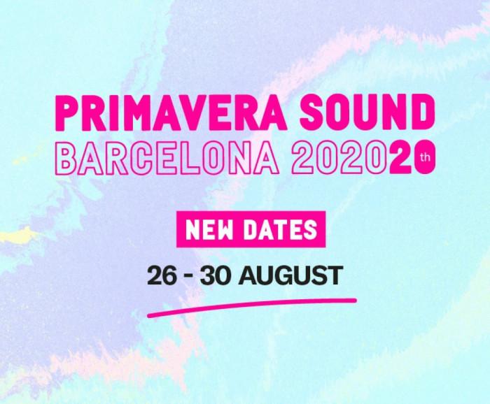 Primavera Sound 2020 - Nuevas Fechas