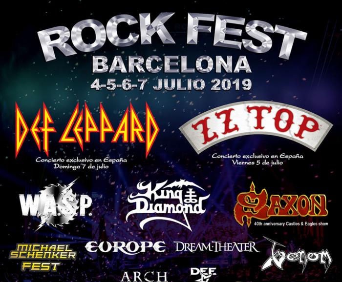 Rock Fest Barcelona 2019 - Barcelona Siempre