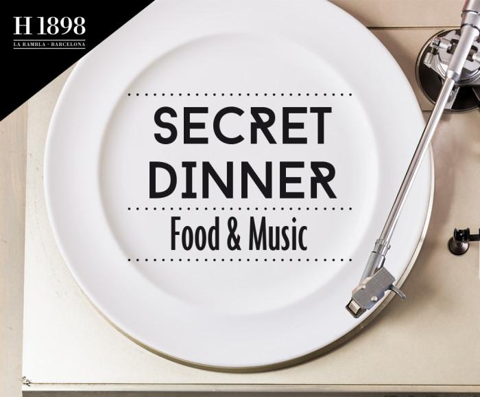 Secret Dinner - Hotel 1898