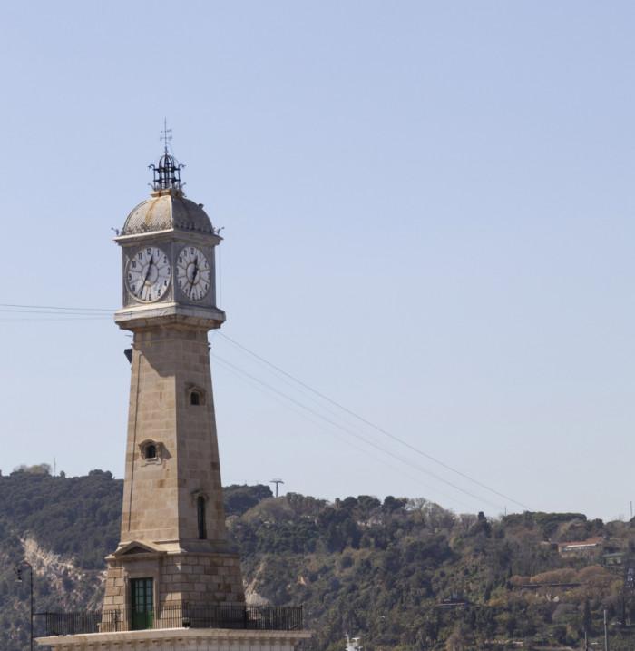 Torre del Rellotge - Barcelona