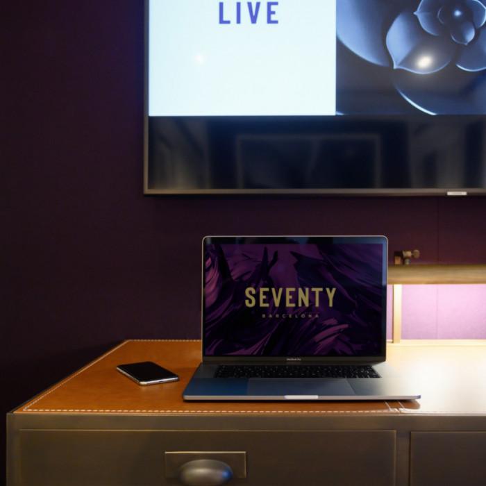 Detalle Habitación - Seventy Barcelona